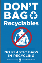Don't Bag Recyclables