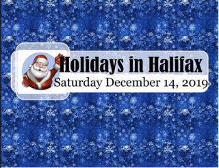 Holidays in Halifax 2019
